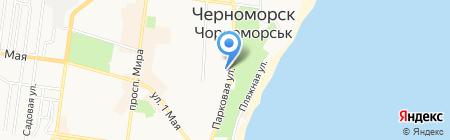 Perekus на карте Ильичёвска