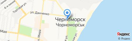 Банкомат Марфин Банк на карте Ильичёвска
