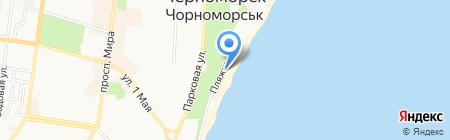 Martinika на карте Ильичёвска