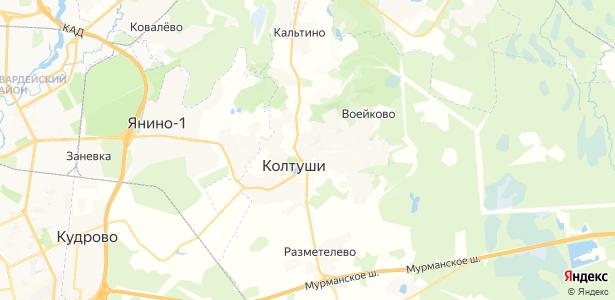 Колбино на карте