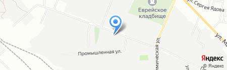 Декор-сталь на карте Одессы