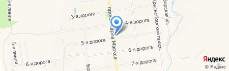 Магазин хозяйственных товаров на карте Феклистово
