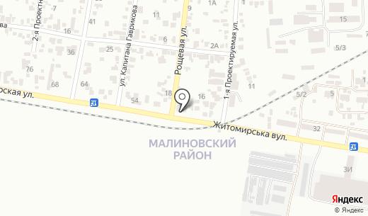 Avto doctor. Схема проезда в Одессе