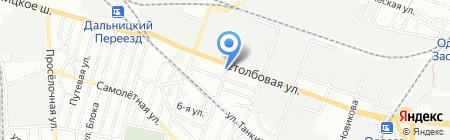 Промкомплект на карте Одессы