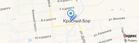 Красноборская больница восстановительного лечения на карте Феклистово
