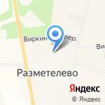 Тайга на карте Санкт-Петербурга