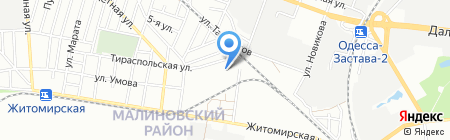 Luksglass на карте Одессы
