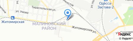 Компания по продаже поддонов на карте Одессы
