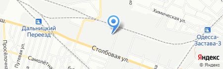 Корсика на карте Одессы