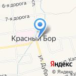 Теремок на карте Санкт-Петербурга