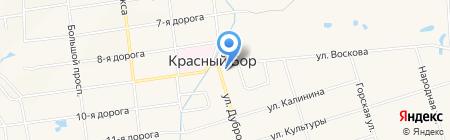 Церковь Параскевы Пятницы на карте Феклистово
