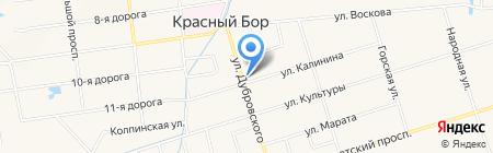 Калинка на карте Феклистово