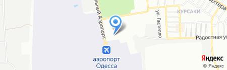 Хижина на карте Одессы