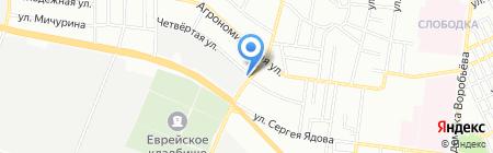 У Натахи на карте Одессы