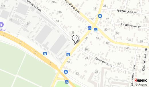 У Натахи. Схема проезда в Одессе
