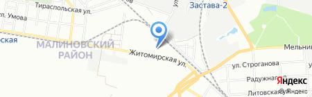 Орион на карте Одессы