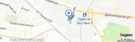 Норма на карте Одессы