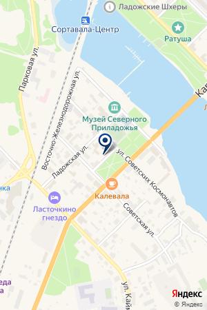 АВТОШКОЛА СВЕТОФОР на карте Сортавалы
