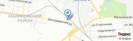 Реал-Фарм на карте Одессы