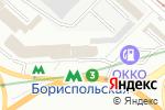 Схема проезда до компании Південь, ПАТ в