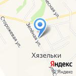 Търага на карте Санкт-Петербурга