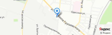 Ами на карте Одессы