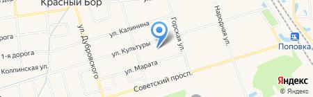 Почтовое отделение на карте Феклистово