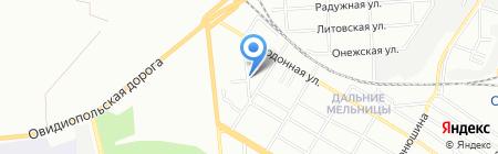 Спецавтосервис на карте Одессы
