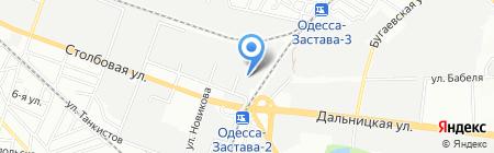 Черноморполиграфметалл ПАО на карте Одессы