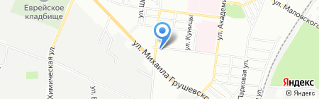 Фарби. Спецодяг на карте Одессы