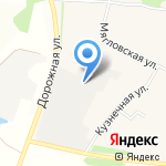 Пласт-Сервис на карте Санкт-Петербурга