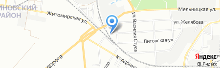Идель ЧП на карте Одессы