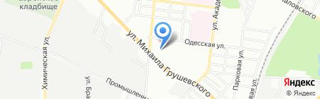 Одесский ремонтно-механический завод на карте Одессы