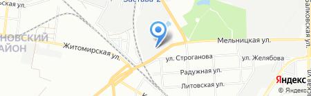S & T на карте Одессы