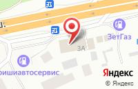 Схема проезда до компании М.А.К.рель в Мяглово