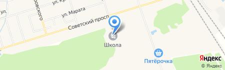 Красноборская средняя общеобразовательная школа на карте Феклистово