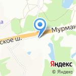 Авто-Норд на карте Санкт-Петербурга