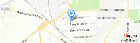 Одесская общеобразовательная школа №110 I-III ступеней на карте Одессы