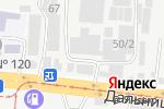 Схема проезда до компании Деливери в Одессе