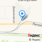 Прикуп на карте Санкт-Петербурга