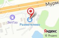 Схема проезда до компании Двери России в Мяглово
