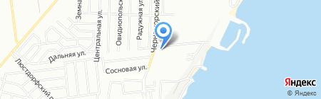 Жемчужина Совиньона на карте Одессы