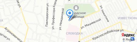 Експресмед на карте Одессы