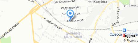 Сервисопторг на карте Одессы