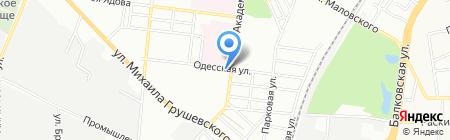 Кременчукм`ясо ПуАТ на карте Одессы