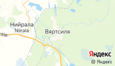 Отели города Вяртсиля на карте