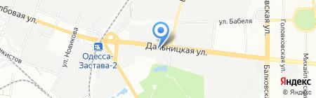 Алекссон на карте Одессы