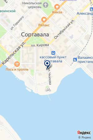 АТП ТРАНССЕРВИС на карте Сортавалы