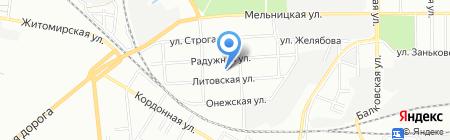 Радуга-N на карте Одессы
