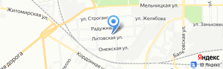 Дарл на карте Одессы